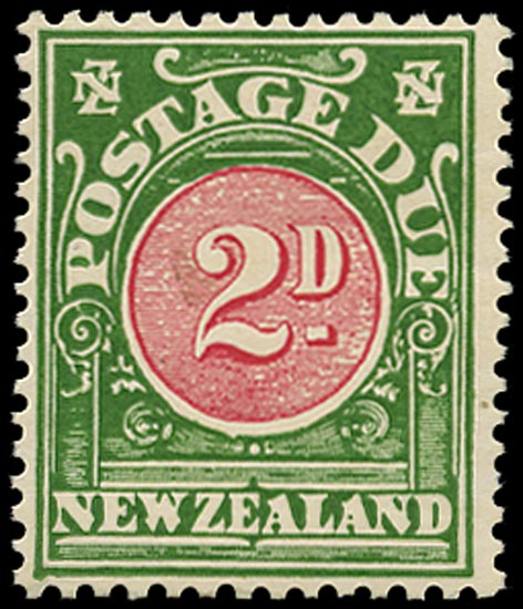 NEW ZEALAND 1926  SGD31x Postage Due