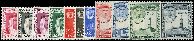 QATAR 1961  SG27/37 Mint