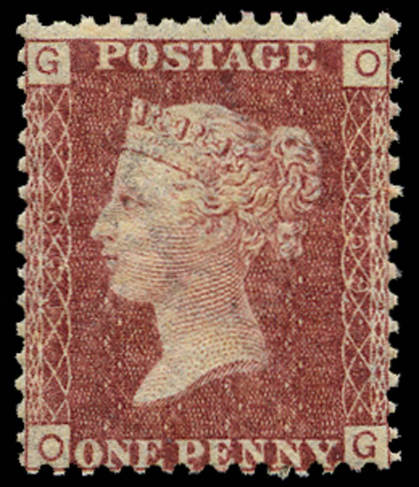 GB 1872  SG43 Pl.159 Mint U/M
