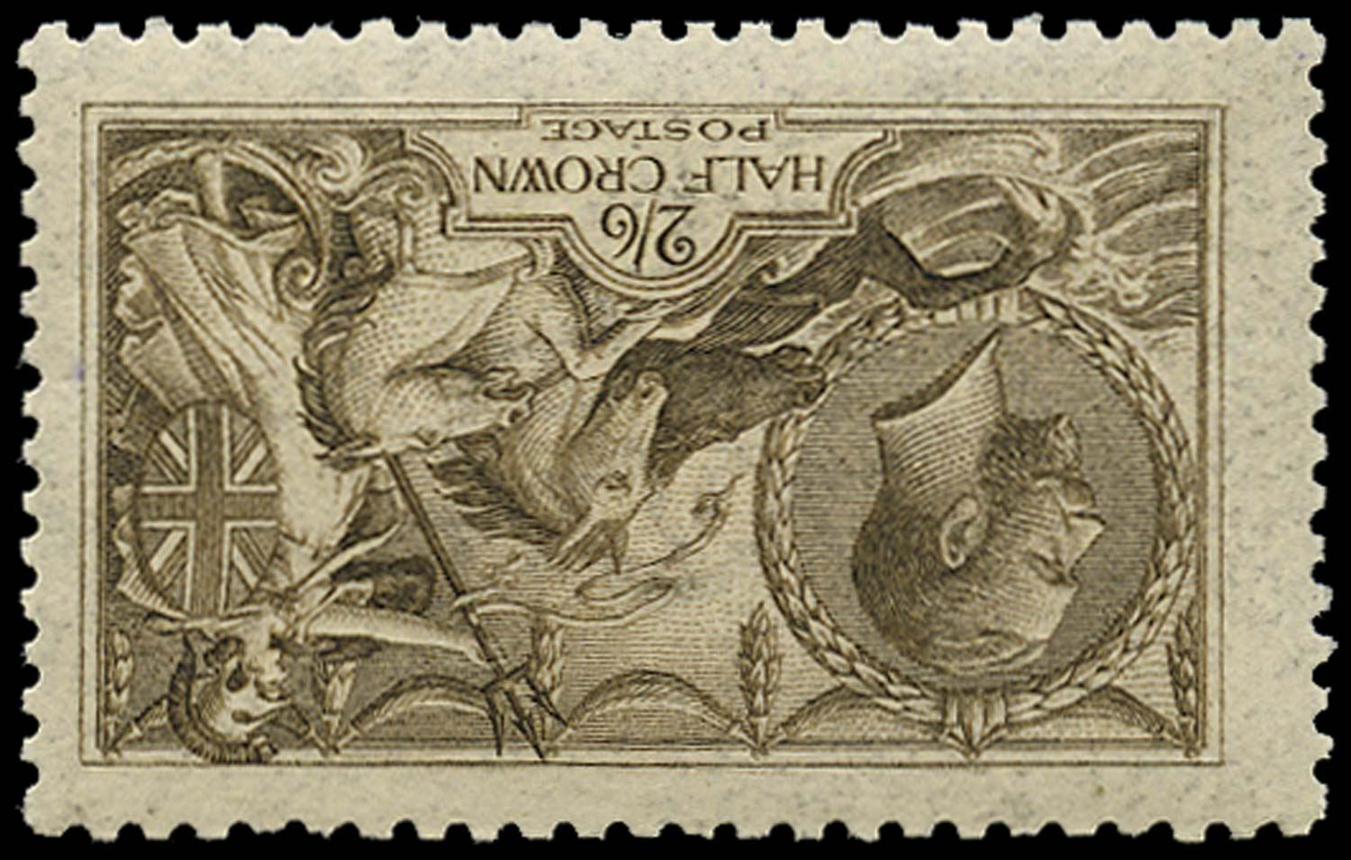 GB 1915  SG408wi Mint - Watermark Inverted