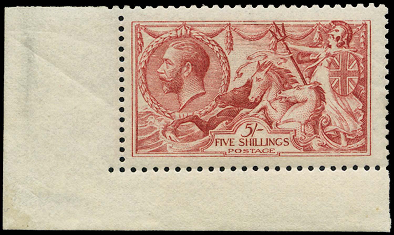 GB 1915  SG410var Mint -