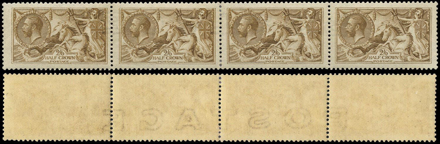 GB 1915  SG405wi var Mint - Wmk.