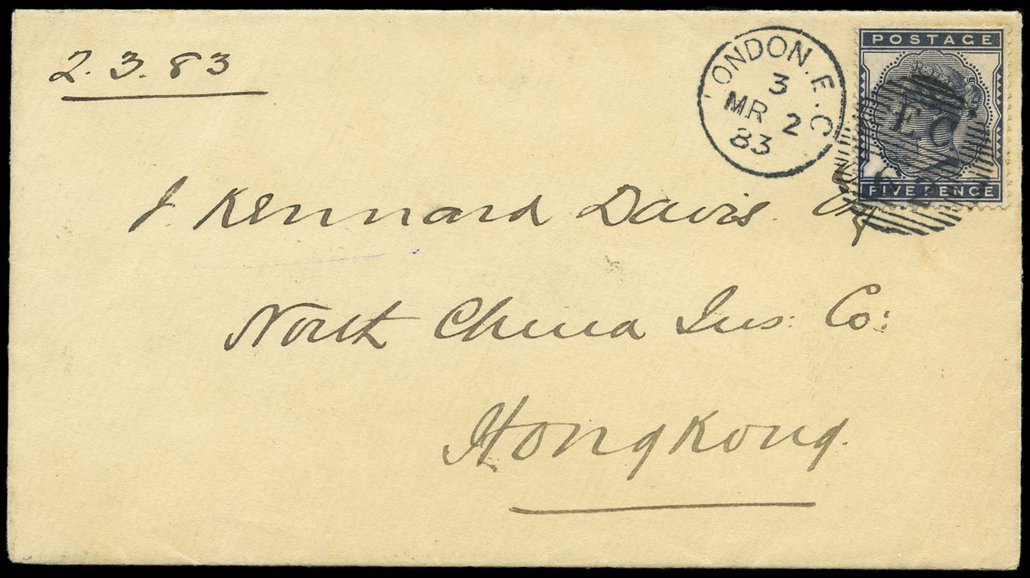GB 1883  SG169 Cover
