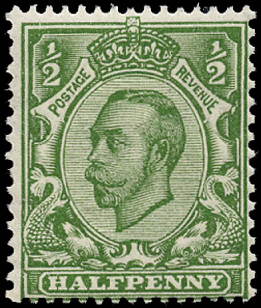 GB 1912  SG344wj Mint Wmk. Reversed