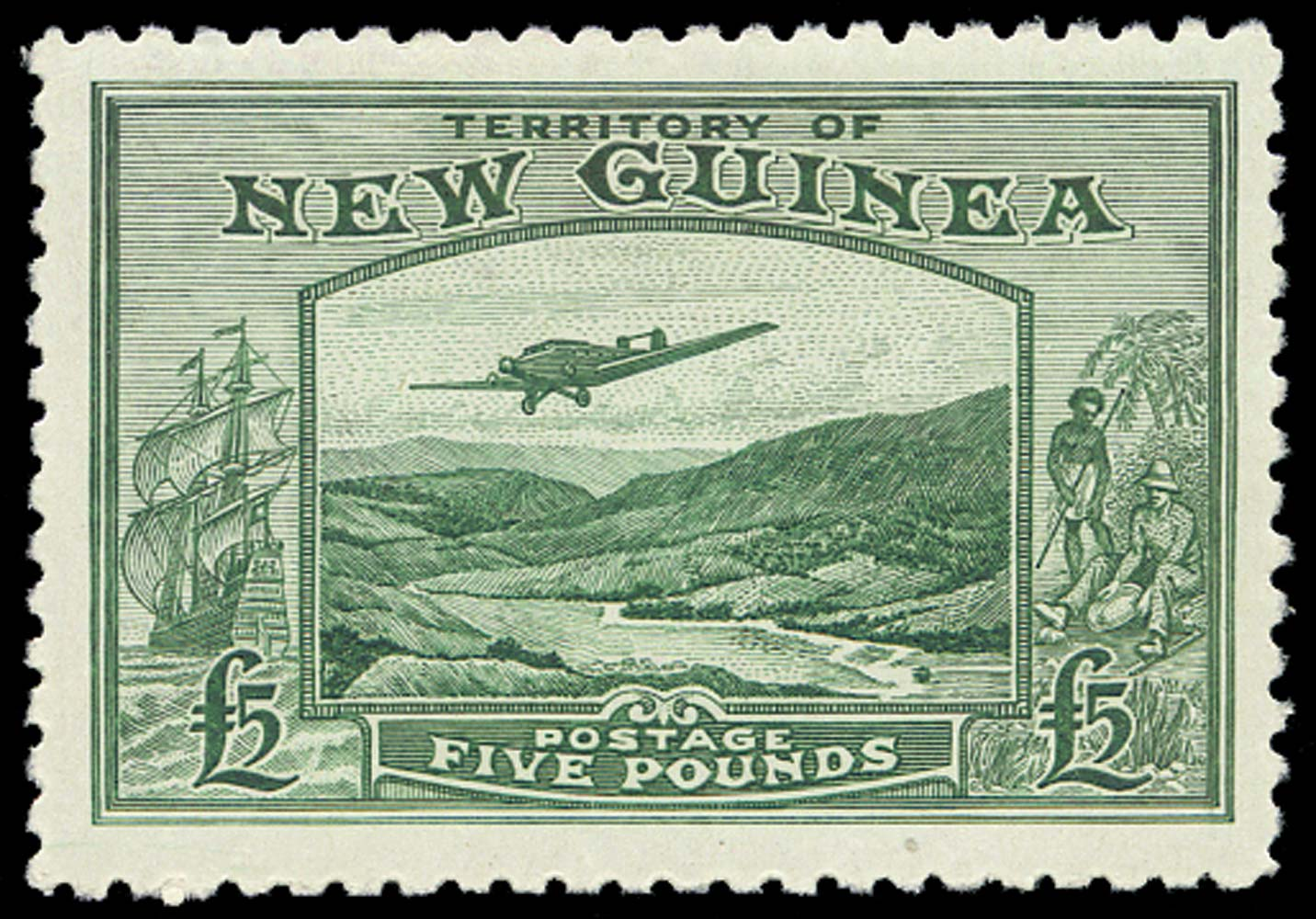 NEW GUINEA 1935  SG205 Mint