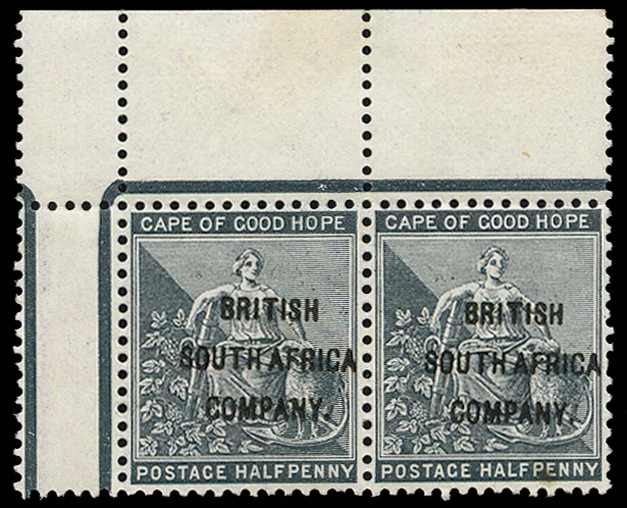 RHODESIA 1896  SG58 Mint