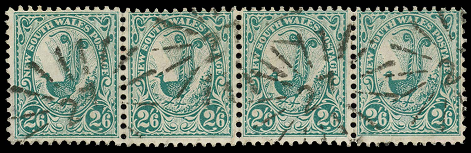 NEW SOUTH WALES 1902  SG326 Used 2s6d Superb Lyrebird