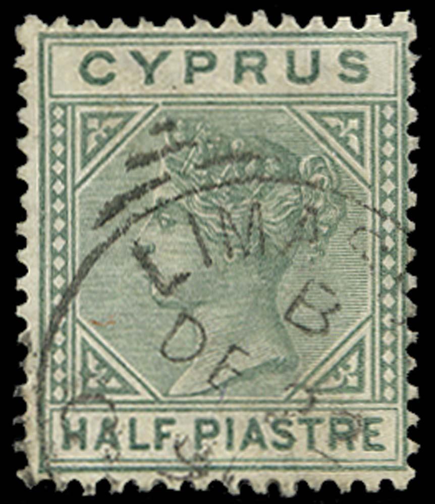 CYPRUS 1882  SG16ab Used