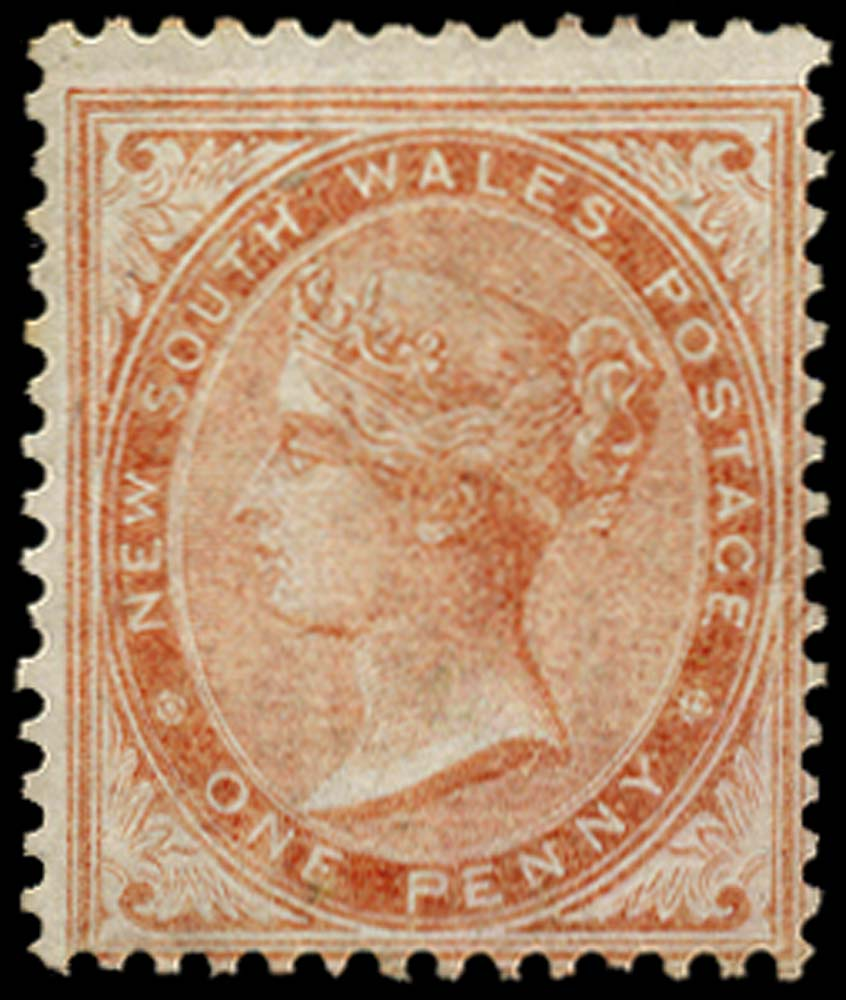 NEW SOUTH WALES 1862  SG187 Mint