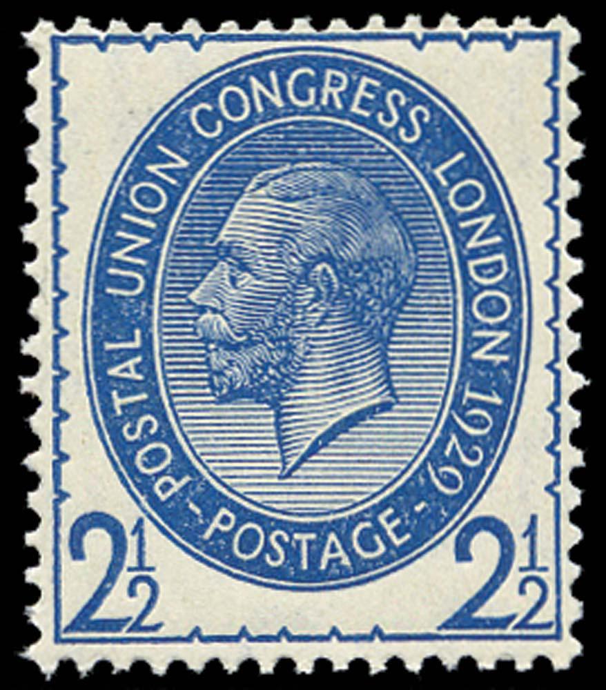 GB 1929  SG437var Mint