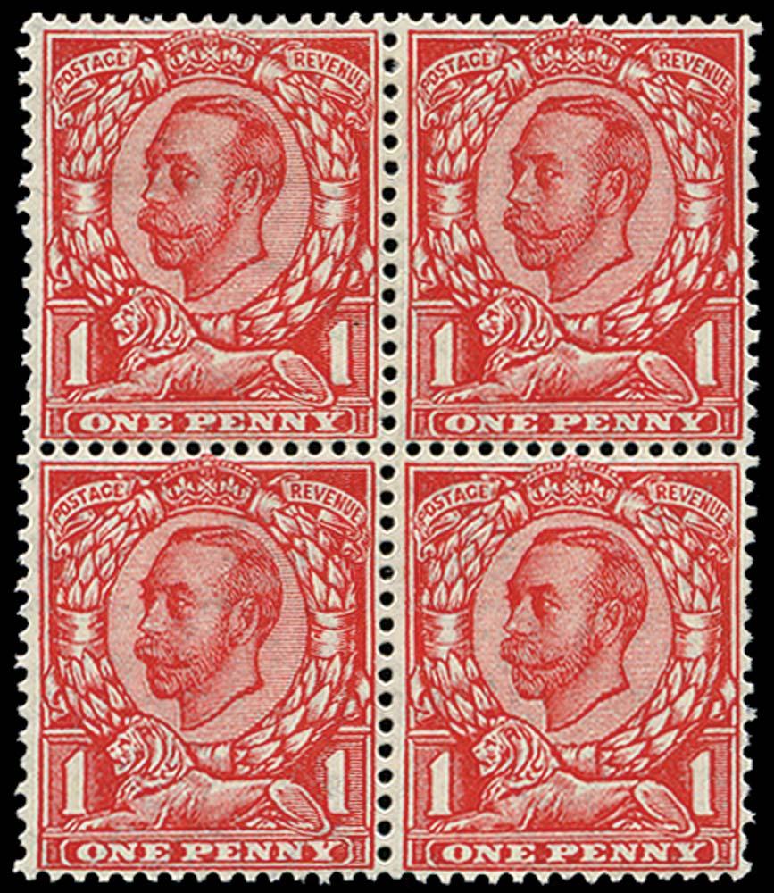 GB 1912  SG350a Mint