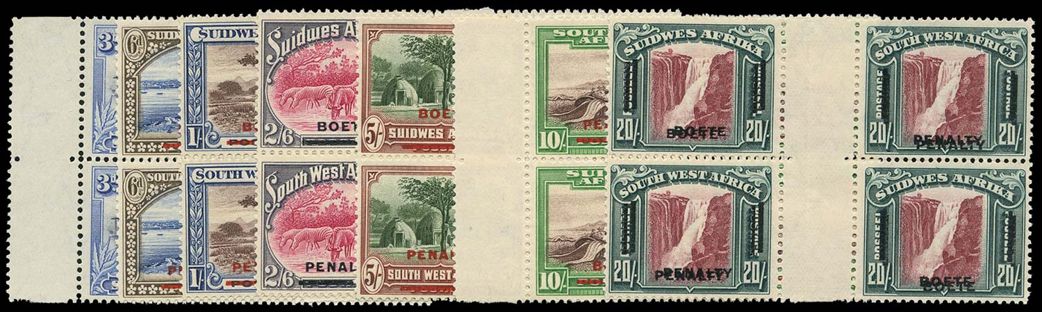 SOUTH WEST AFRICA 1931 Revenue