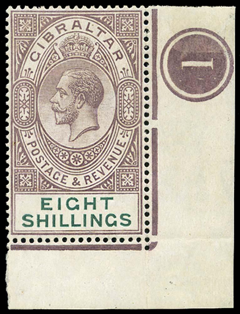 GIBRALTAR 1921  SG101 Mint