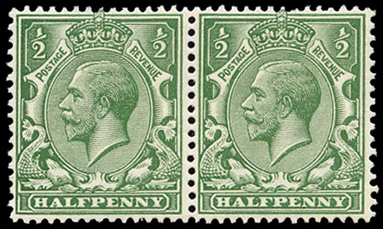 GB 1913  SG351var Mint