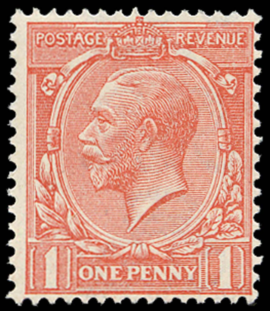 GB 1912  SG357var Mint Unused o.g.