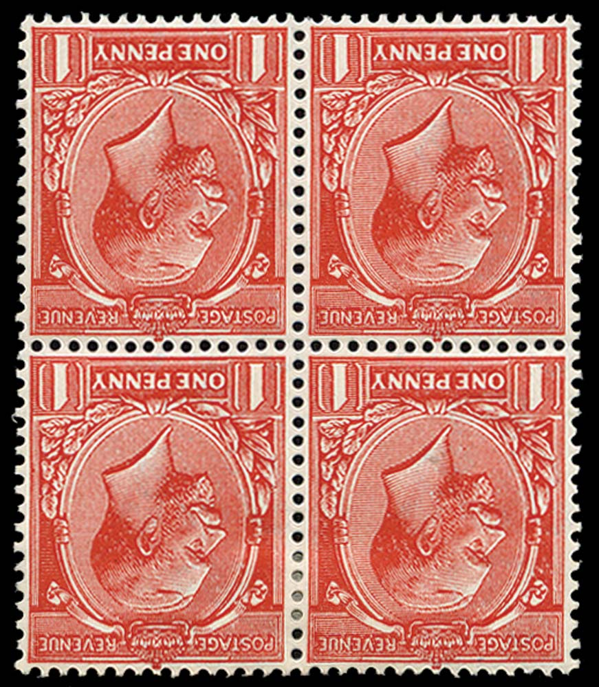 GB 1912  SG357wi var Mint