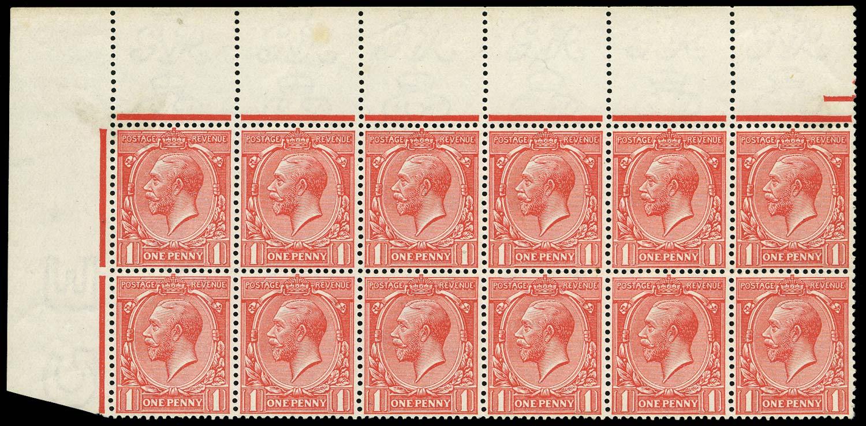 GB 1912  SG357 Mint