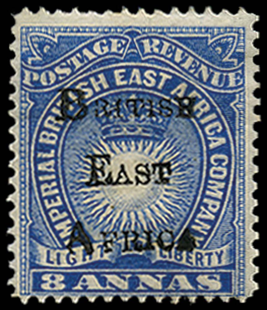 BRITISH EAST AFRICA 1895  SG42 Mint