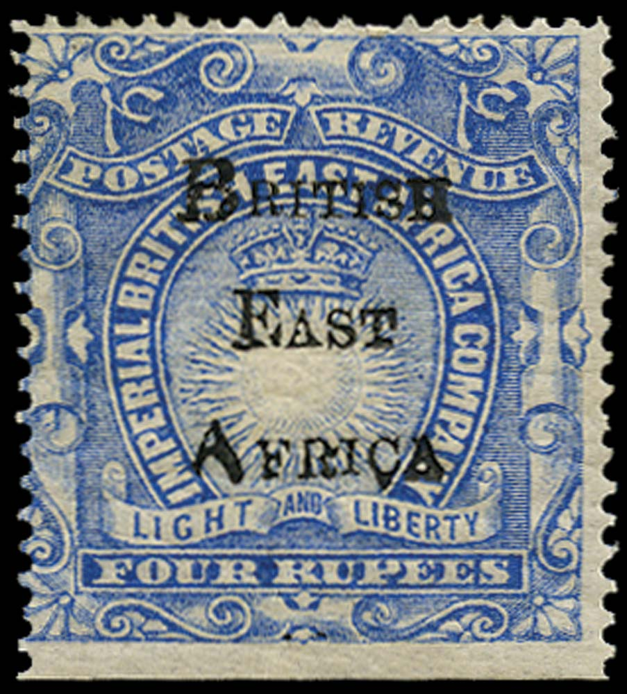 BRITISH EAST AFRICA 1895  SG46 Mint