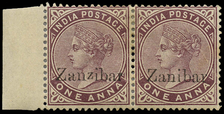 ZANZIBAR 1895  SG4D/k Mint