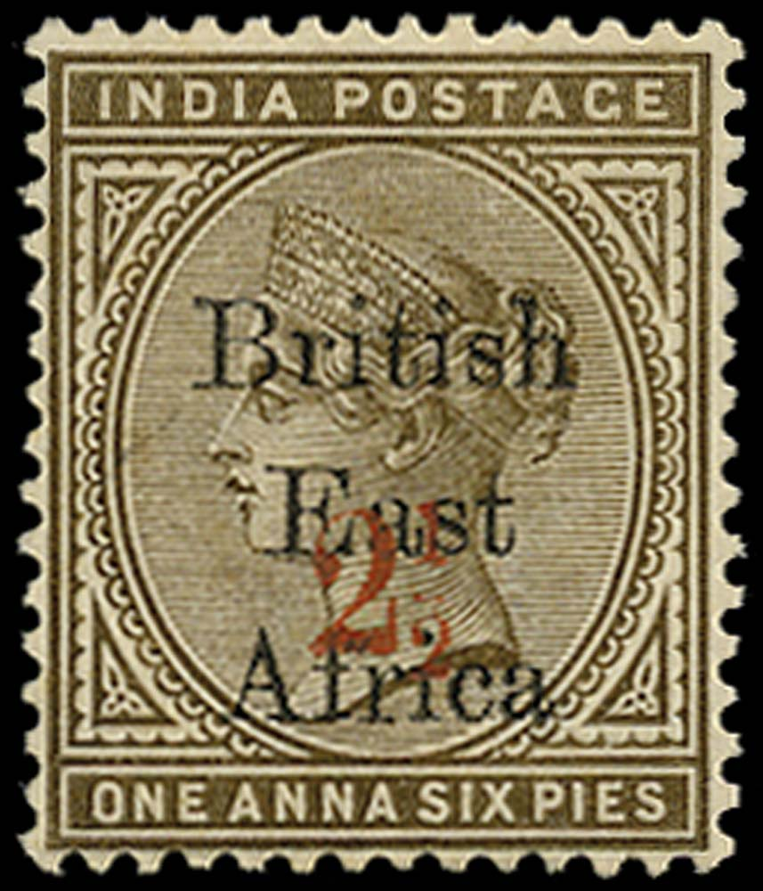 BRITISH EAST AFRICA 1895  SG64 Mint