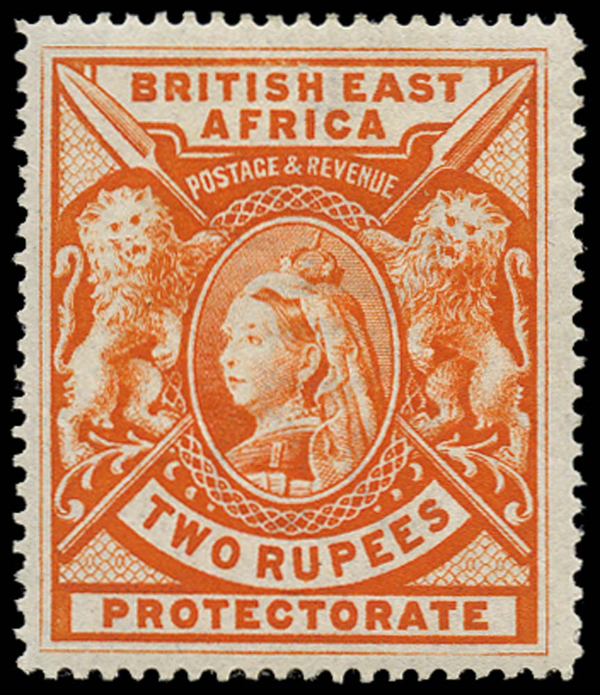BRITISH EAST AFRICA 1897  SG93 Mint