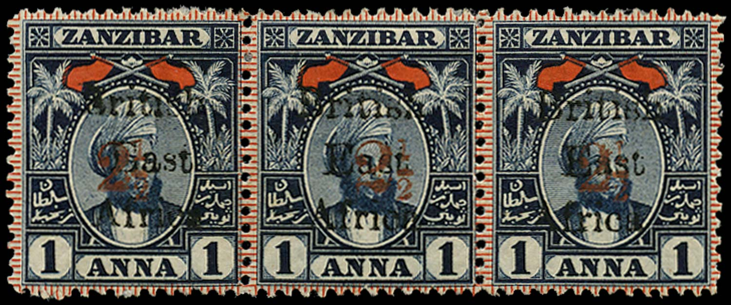 BRITISH EAST AFRICA 1897  SG86, 88 Mint