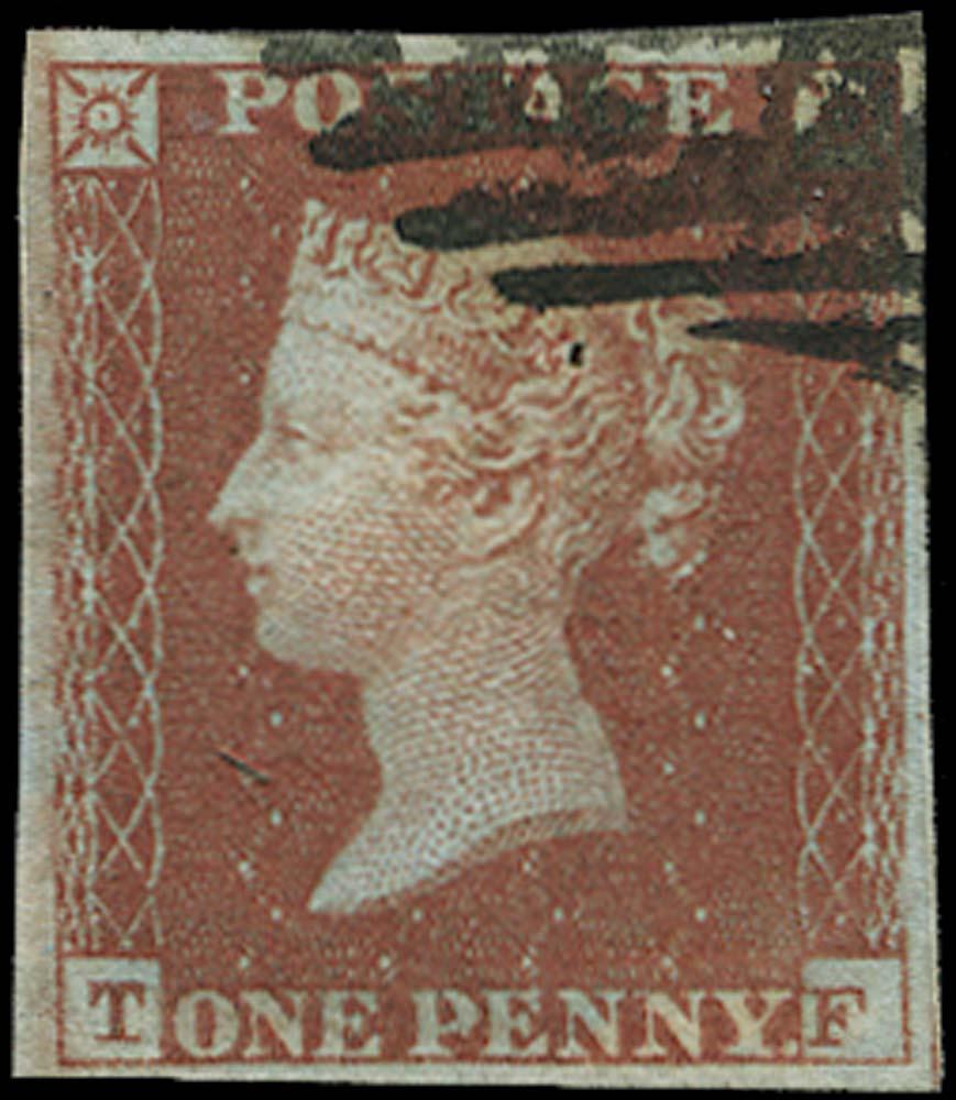 GB 1841  SG8 Pl.175 Used - Plate 175