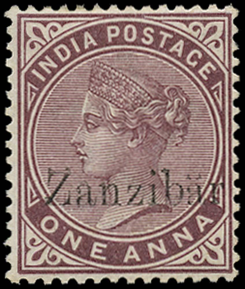 ZANZIBAR 1895  SG4l Mint