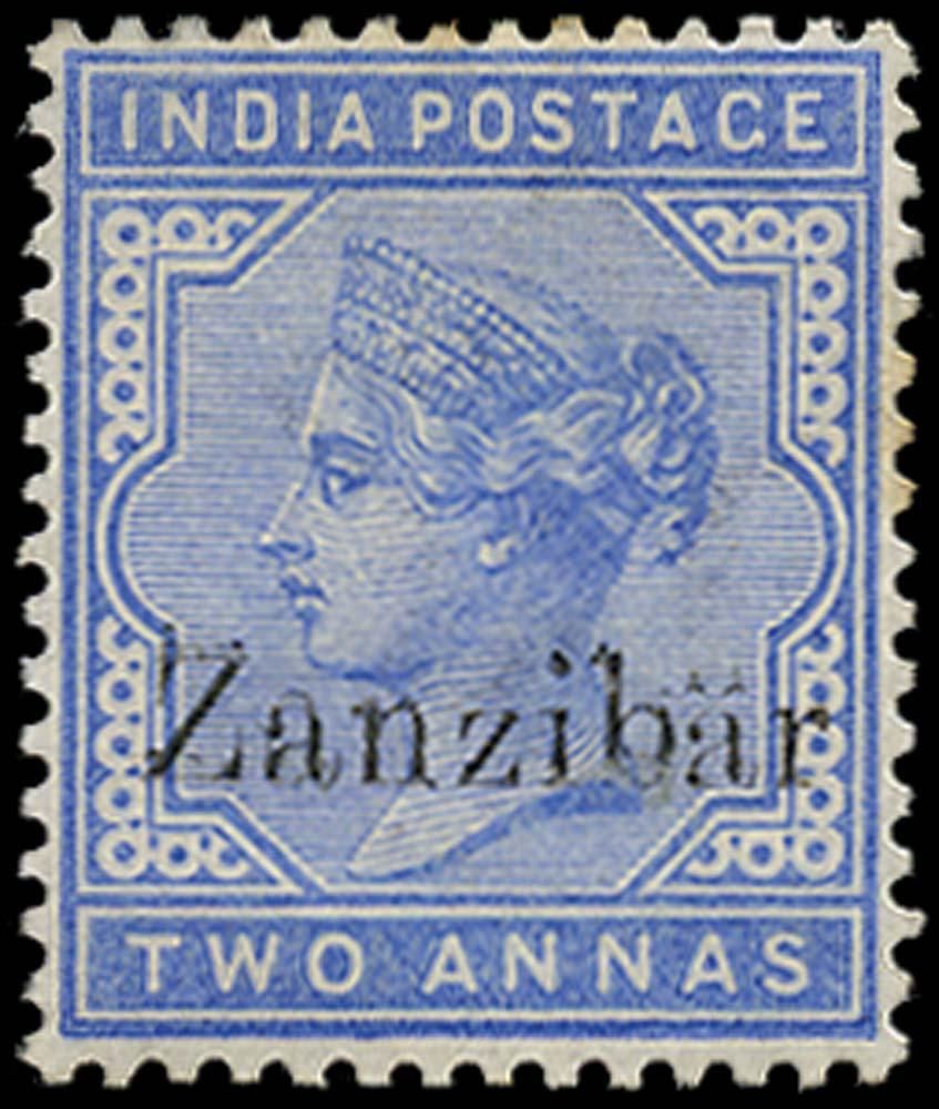 ZANZIBAR 1895  SG7l Mint