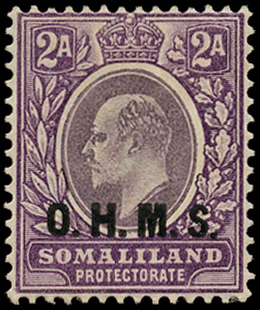SOMALILAND PROTECT 1904  SGO12 Official