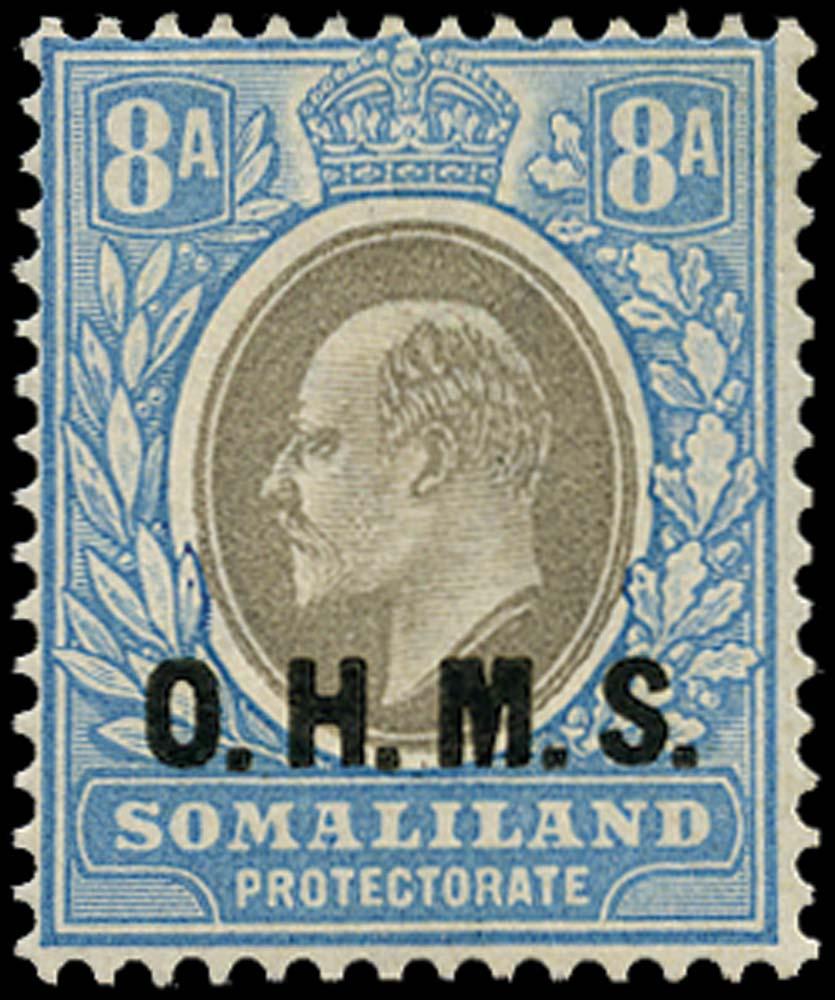 SOMALILAND PROTECT 1904  SGO13 Official
