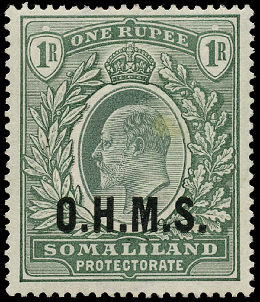 SOMALILAND PROTECT 1904  SGO15 Official