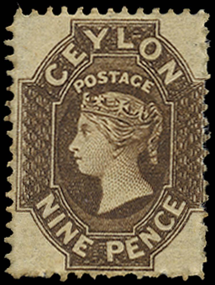 CEYLON 1862  SG42 Mint