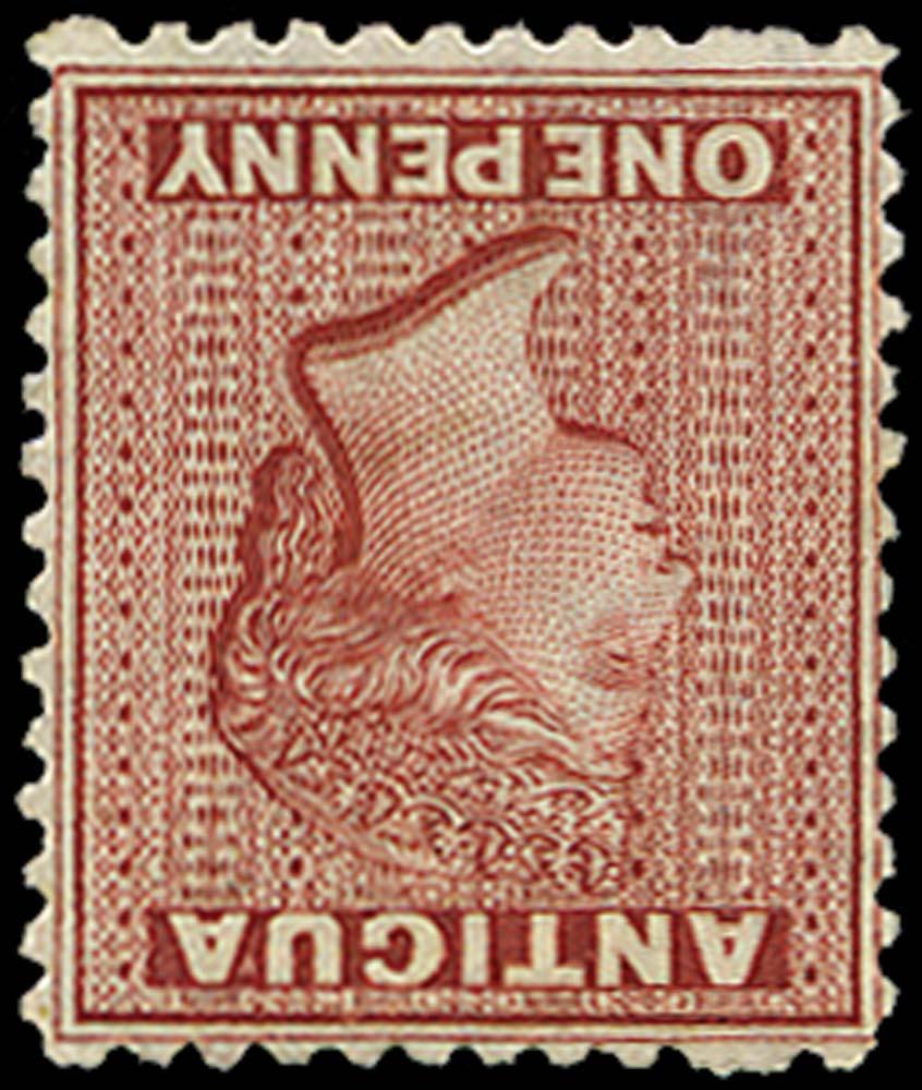 ANTIGUA 1872  SG13w Mint