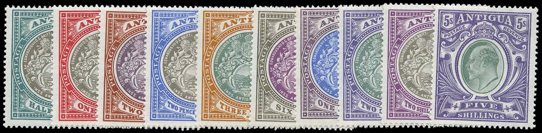 ANTIGUA 1903  SG31/40 Mint