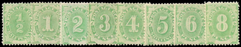 AUSTRALIA 1902  SGD1/8 Postage Due