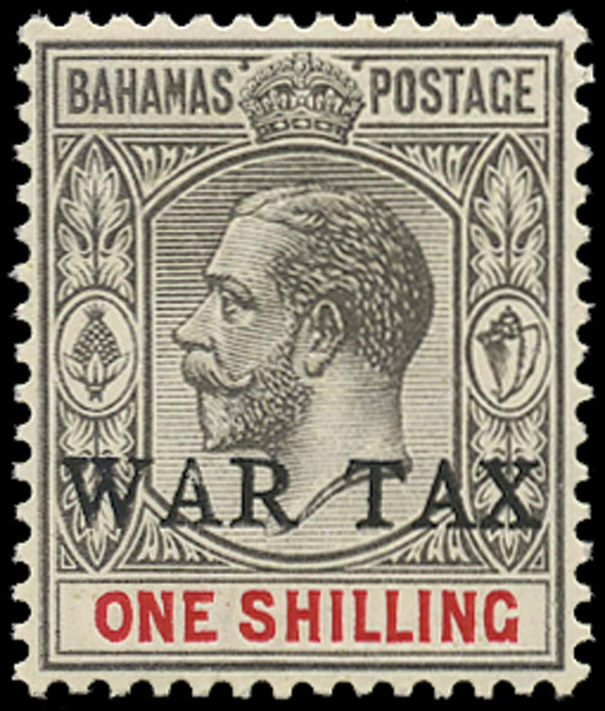 BAHAMAS 1918  SG95 Mint
