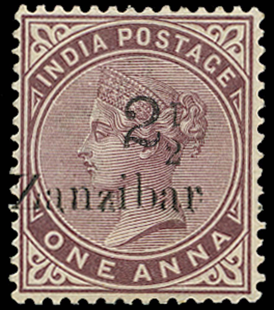 ZANZIBAR 1896  SG24j Mint
