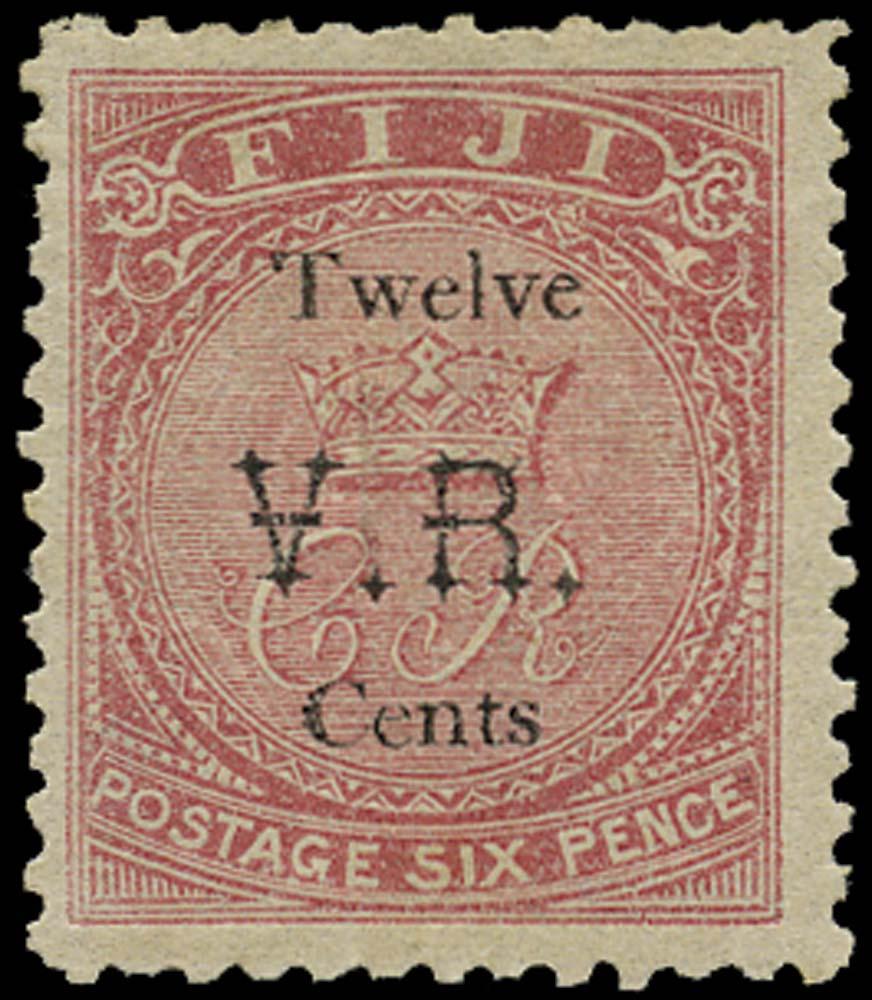 FIJI 1874  SG18 Mint