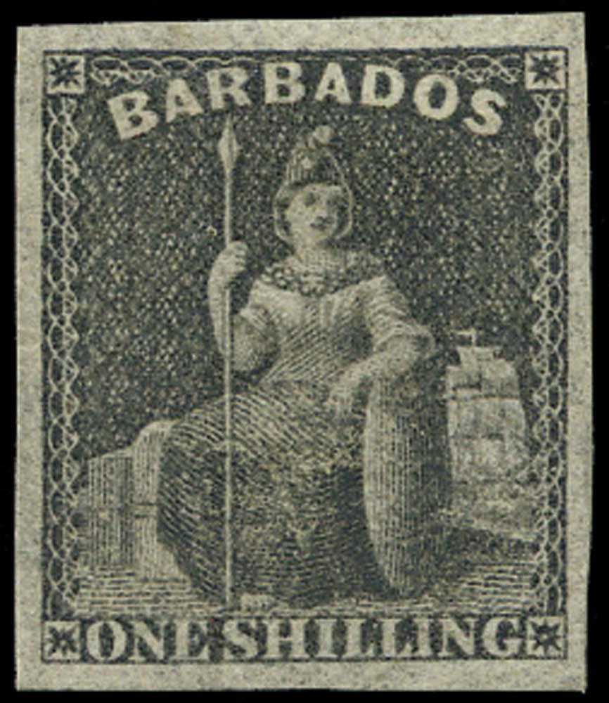 BARBADOS 1858  SG12a Mint