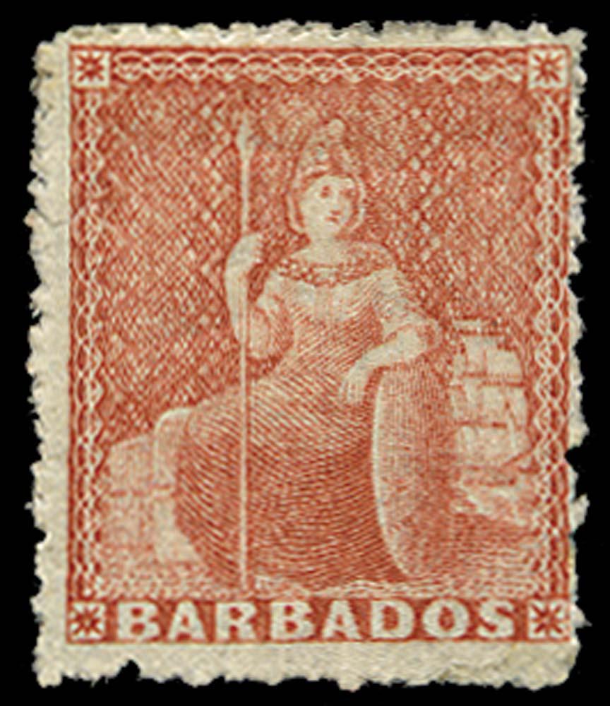 BARBADOS 1870  SG45 Mint