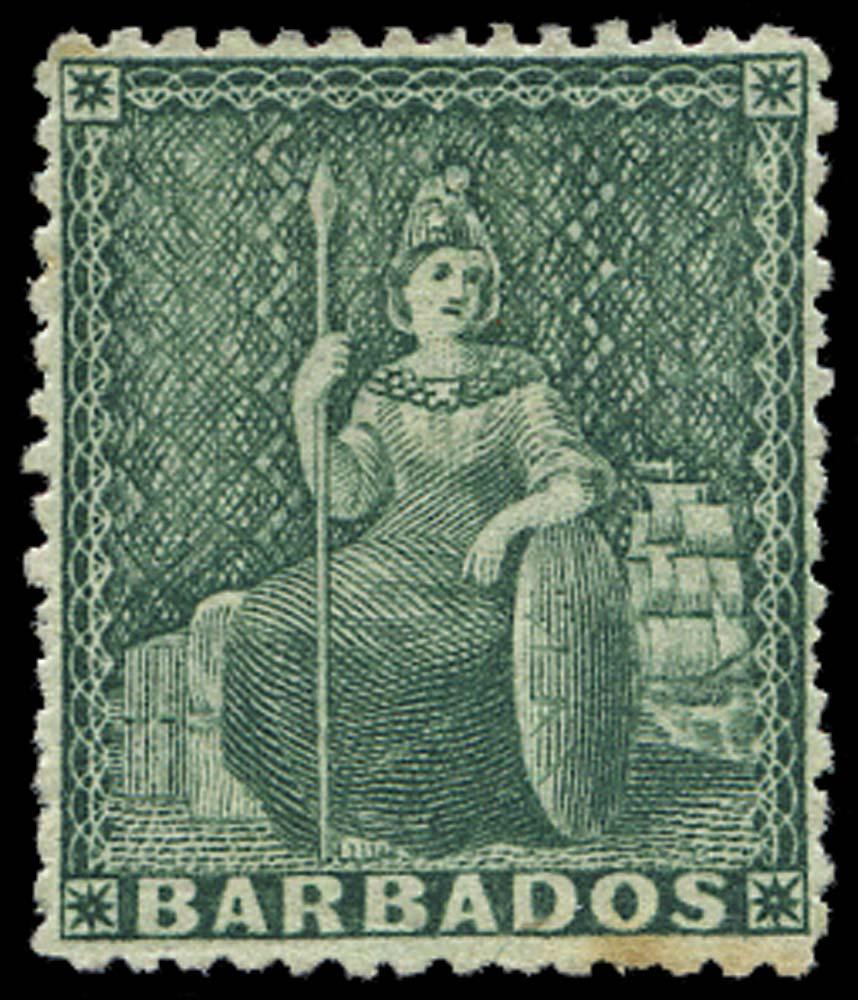 BARBADOS 1873  SG58 Mint