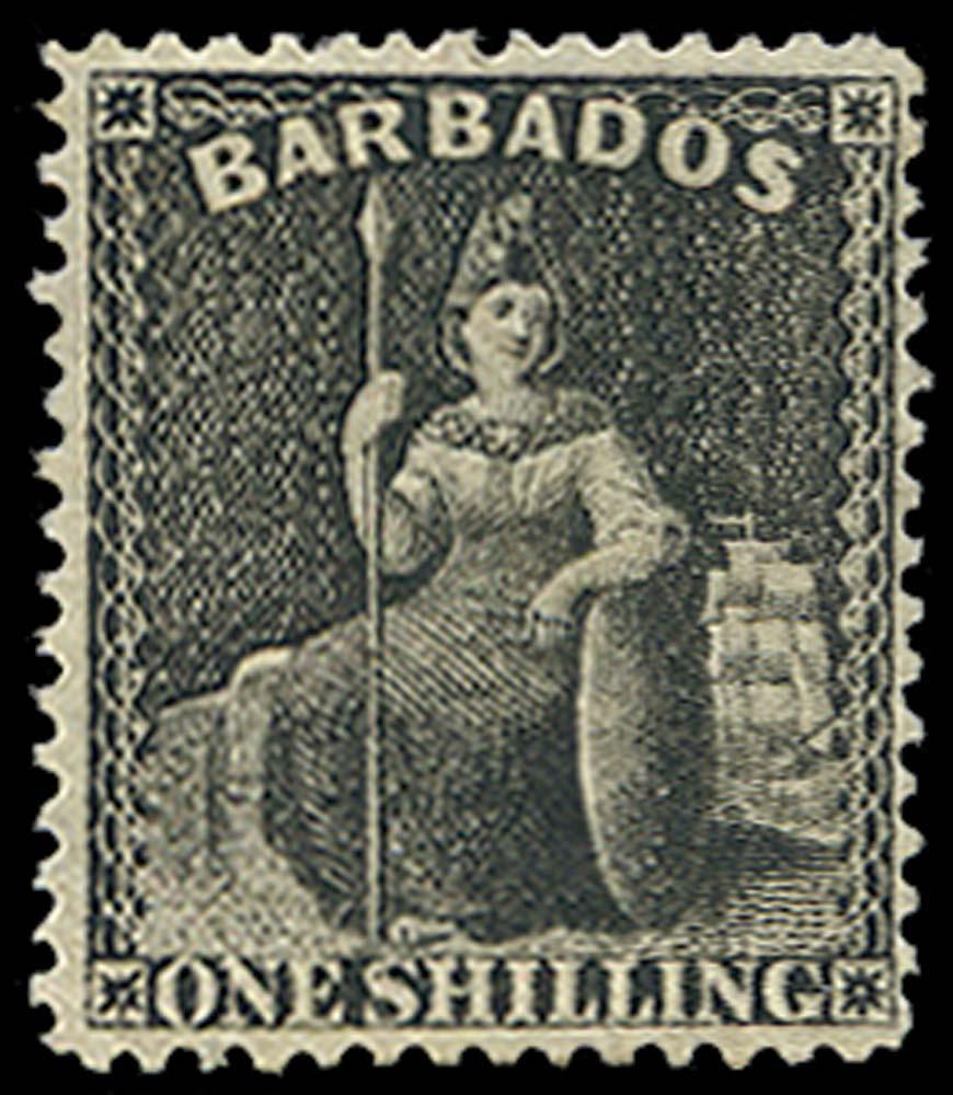 BARBADOS 1873  SG61 Mint