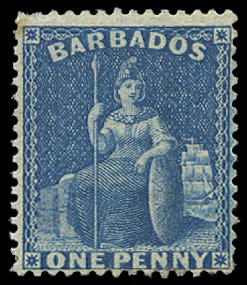 BARBADOS 1874  SG66 Mint