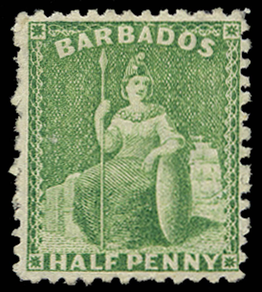 BARBADOS 1875  SG67 Mint
