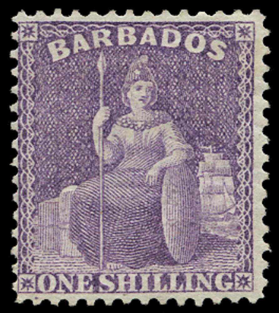 BARBADOS 1875  SG83 Mint