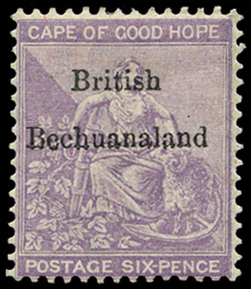 BECHUANALAND 1885  SG7 Mint