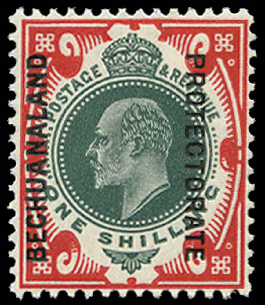 BECHUANALAND 1904  SG70 Mint