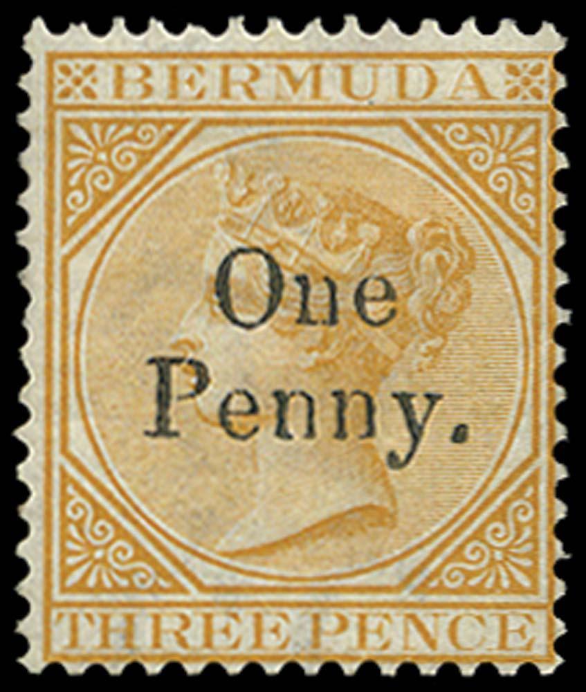 BERMUDA 1875  SG16 Mint
